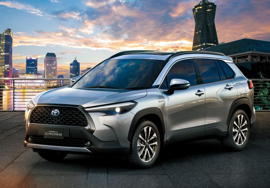 Toyota do Brasil lança novo Corolla Cross