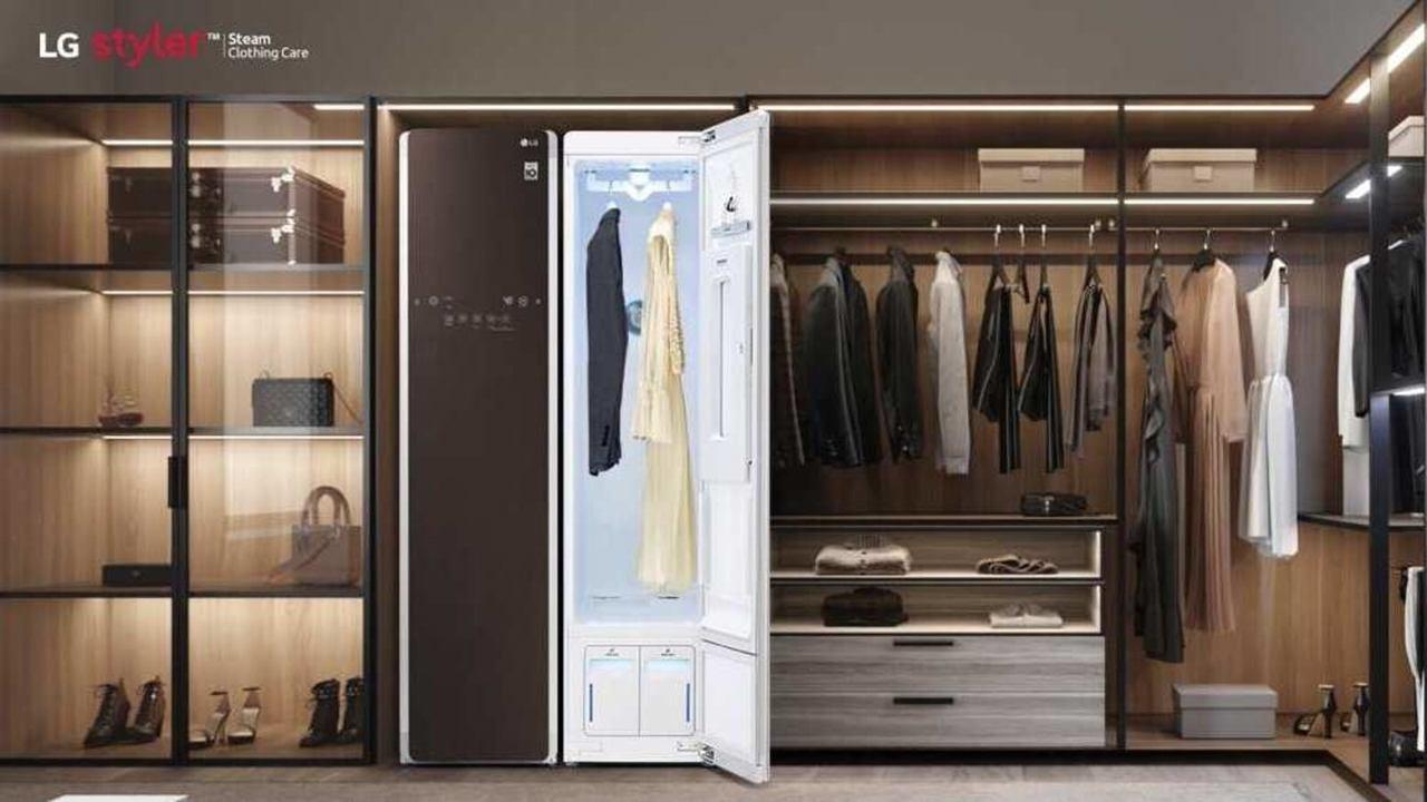 """LG lança o primeiro """"closet inteligente"""" com sistema de tratamento de roupas a vapor do Brasil"""