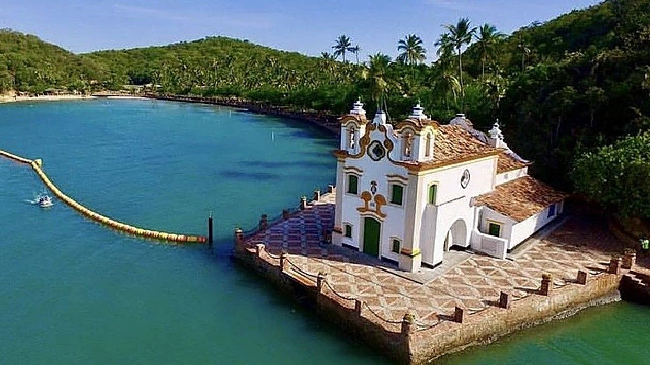 Live Tour Salvador desvenda as belezas da Ilha dos Frades nesta terça (20)