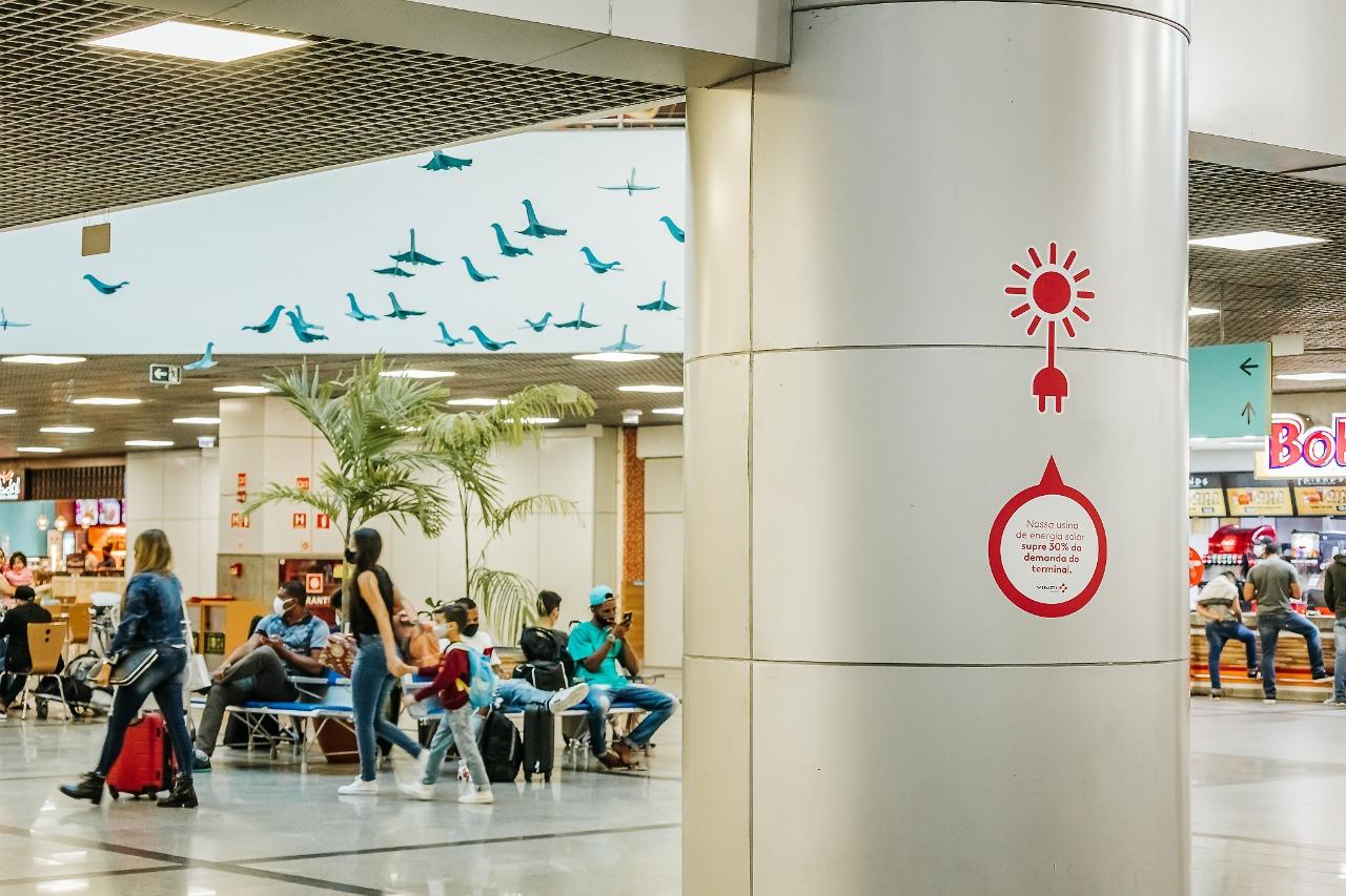 Salvador Bahia Airport celebra seu quarto aniversário tendo se tornado o aeroporto mais sustentável do Brasil