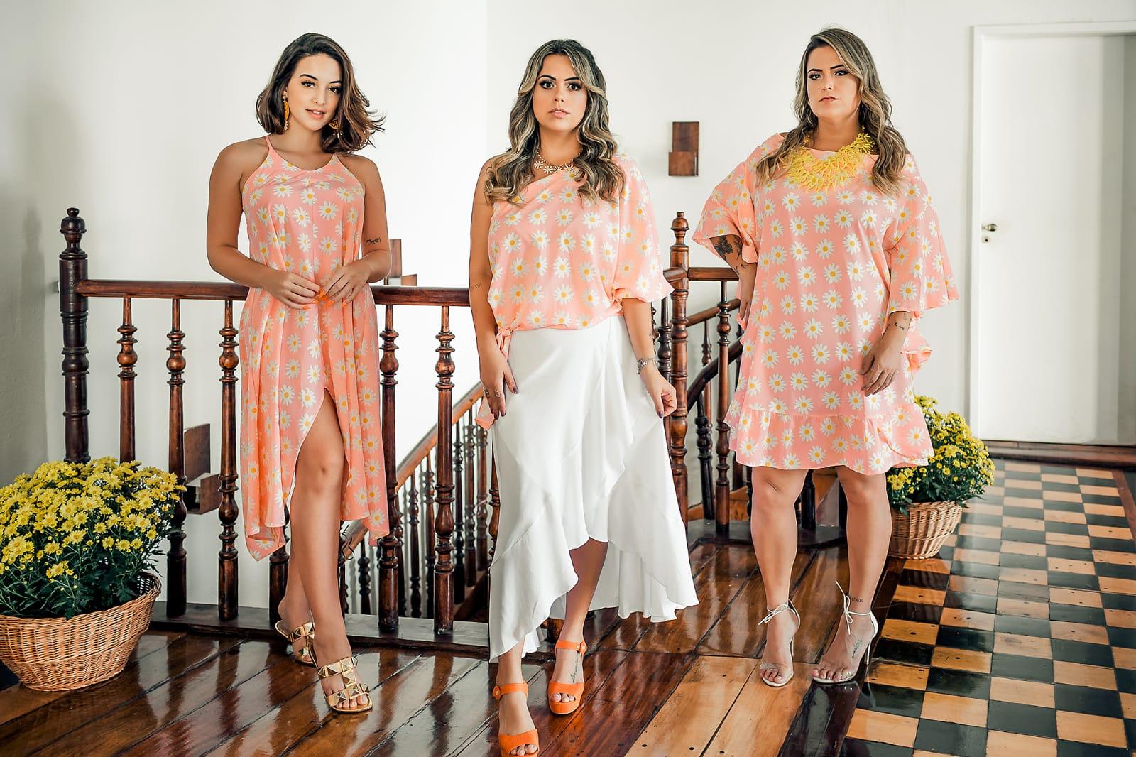 Três clientes da marca Santa Bata estrelam nova coleção assinada por Emília Mascarenhas