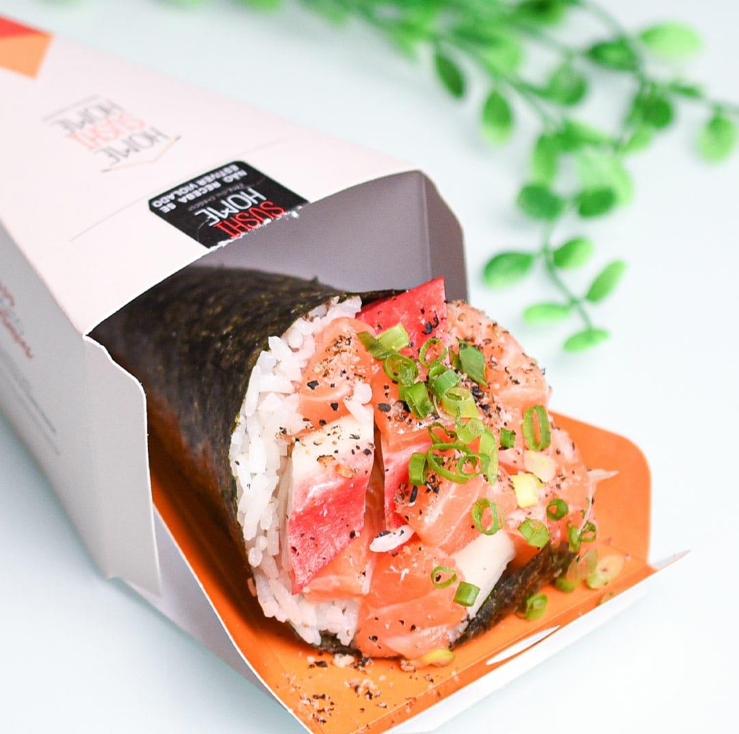 Home Sushi Home completa cinco meses na capital baiana e oferece descontos especiais às terças-feiras