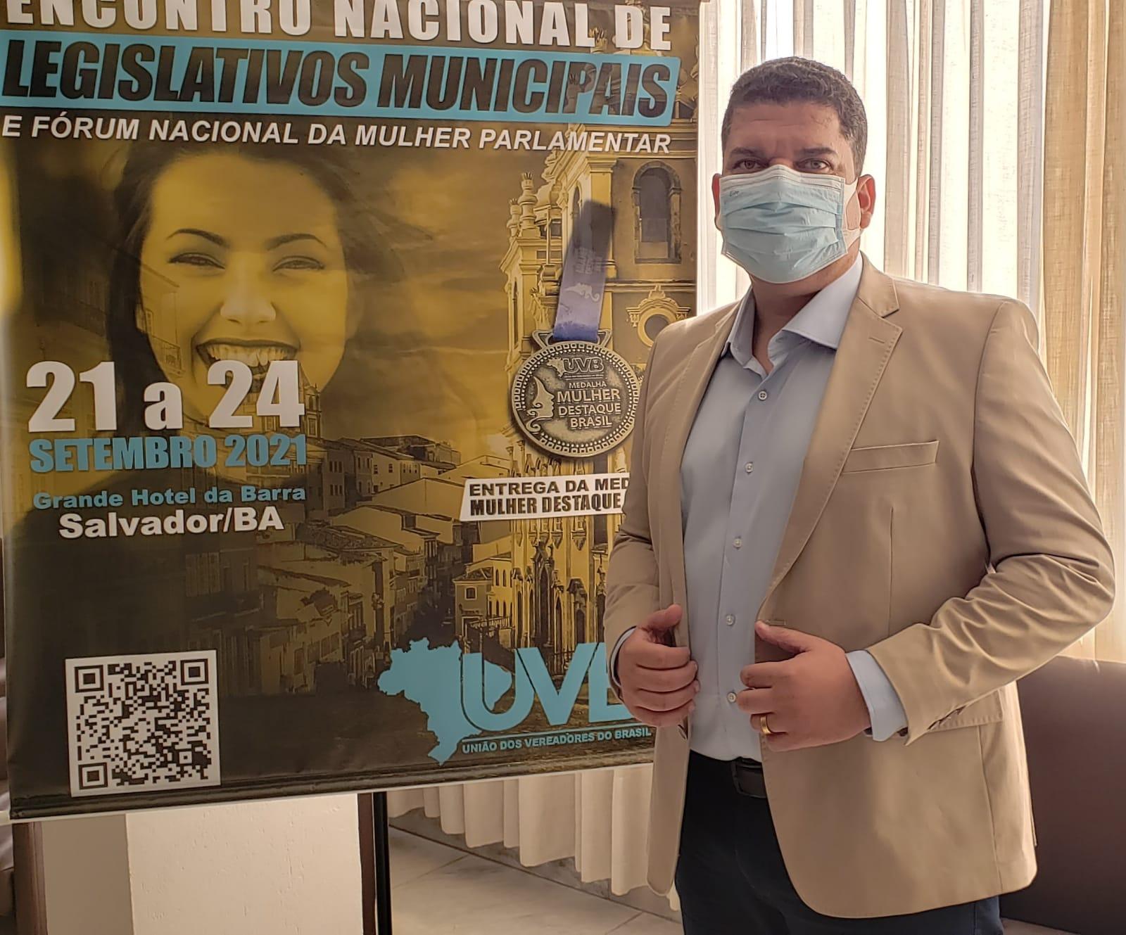Evento em Salvador reúne vereadores de todo Brasil