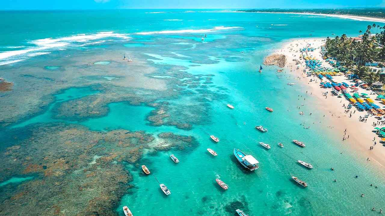 Porto de Galinhas e Maragogi são os destinos de praia mais desejados pelos brasileiros
