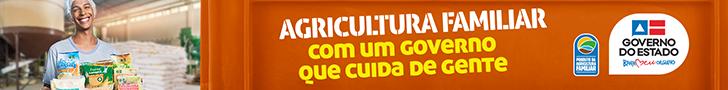 CAMPANHA GOV - AGRICULTURA FAMÍLIAR - PI 30554 de 2 a 16 out 2021