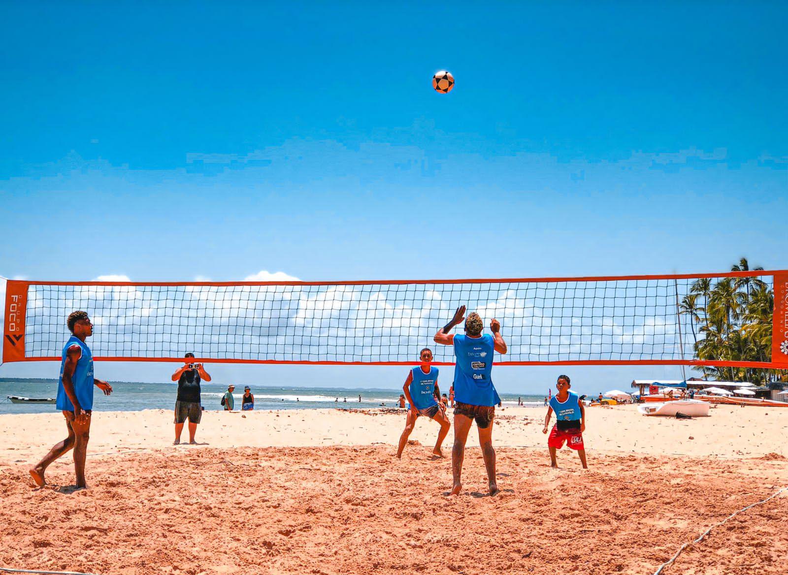 Torneio de Futevôlei reúne participantes de diversas cidades do país em Barra Grande