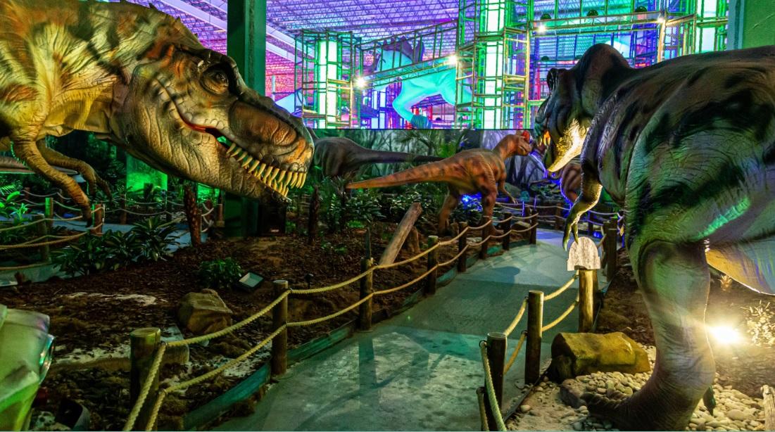 Trilha dos Dinossauros anima programação especial para o mês das crianças