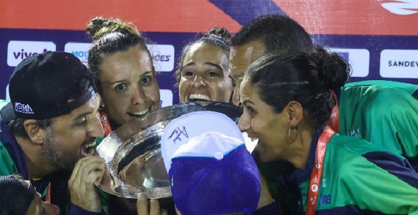 Brasil é tetracampeão da Copa do Mundo de Beach Tennis