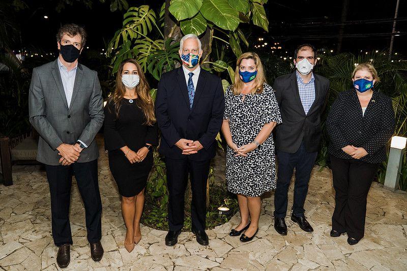 Amcham Salvador - Missão Diplomática dos Estados Unidos no Brasil e lideranças do setor privado baiano discutem união