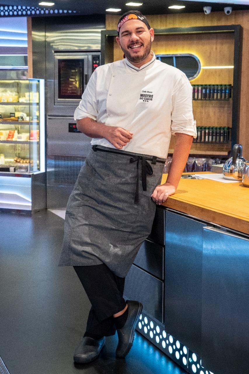 Chef Cadu Moura é um dos nomes convidados do 15º Festival Tempero no Forte