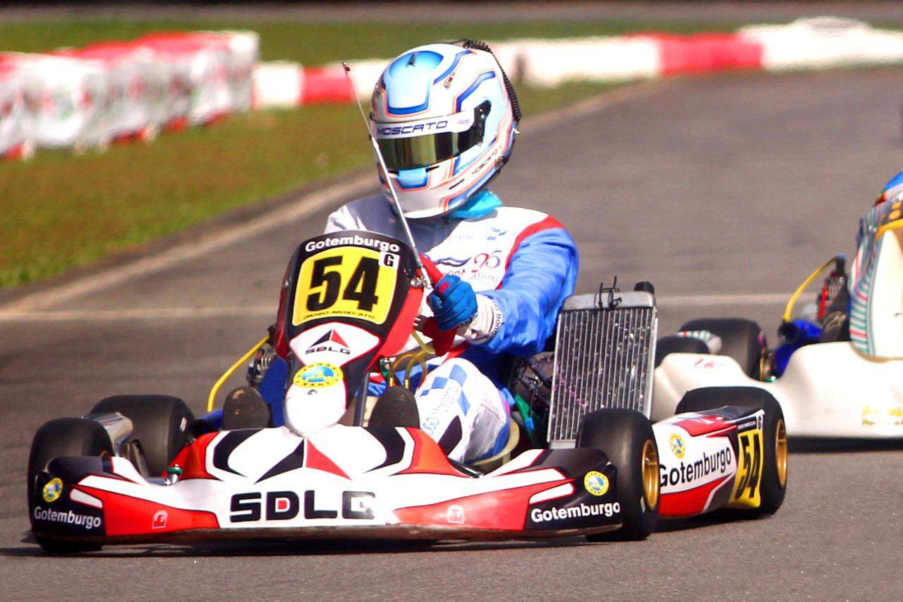 Diogo Moscato é campeão do Nordeste de Kart 2021